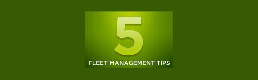 Five fleet management tips