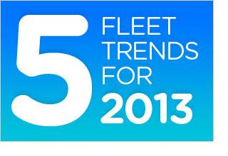 Five fleet trends for 2013