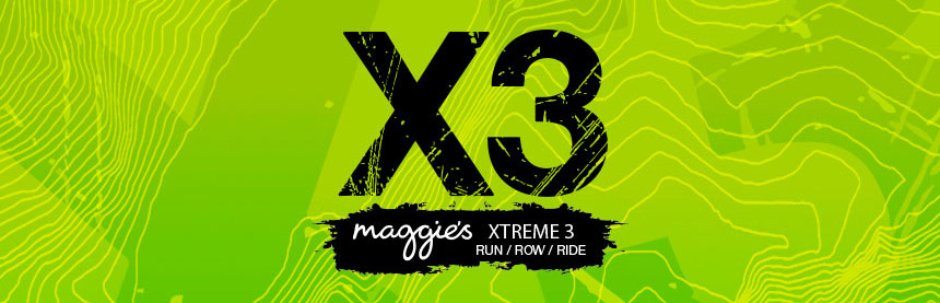 David Blackmore takes up the Maggie's Xtreme 3 challenge