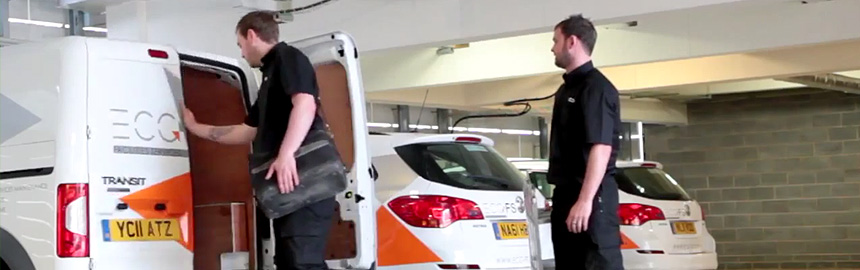 ECG replaces car and van fleets with help from Fleet Alliance