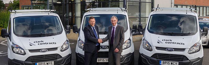 Fleet Alliance replaces van fleet at Clark Contracts
