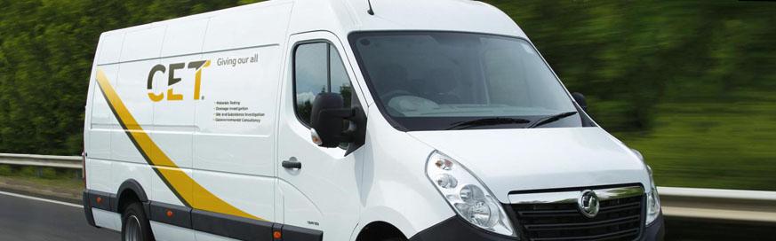 Fleet Alliance supplies new van fleet to CET