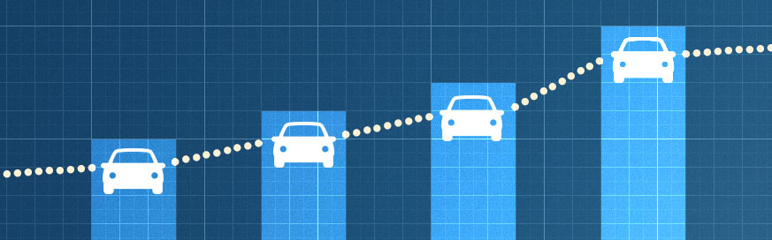 Company car usage increases
