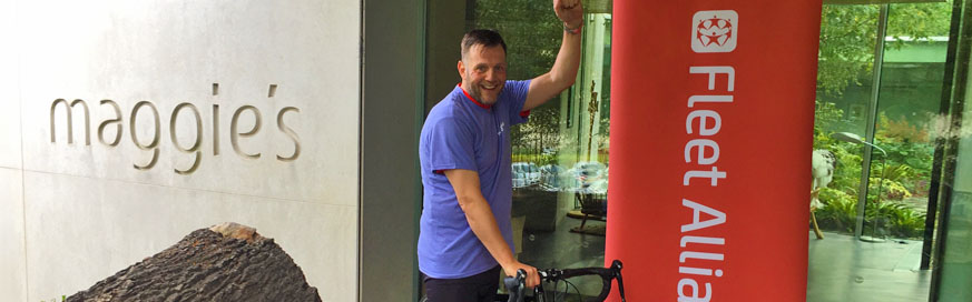 Grant takes on GBX charity challenge for Maggie's