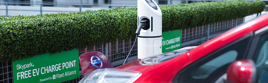 Government plans to have more widely available EV charging points