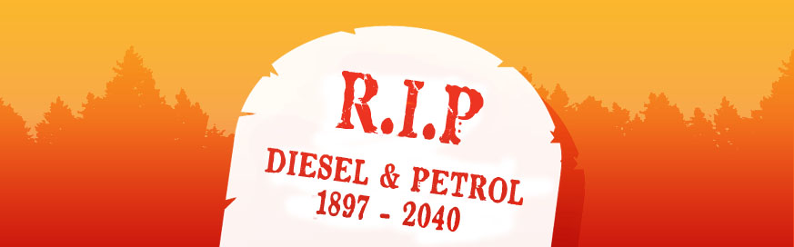 You're fired! Petrol and diesel engines get the bullet
