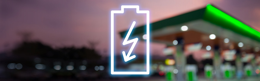 Oil companies add electric charging to forecourts