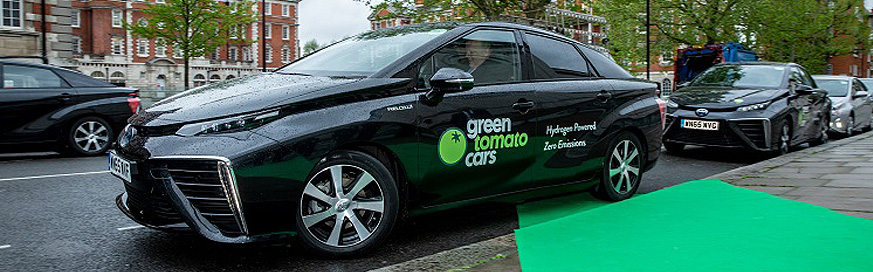 Hydrogen fuel cell electric vehicles are put to the test for fleet