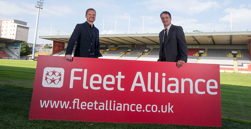 Fleet Alliance back's Thistle for 2018/19 season