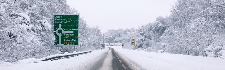 Ten Top Winter Driving Tips