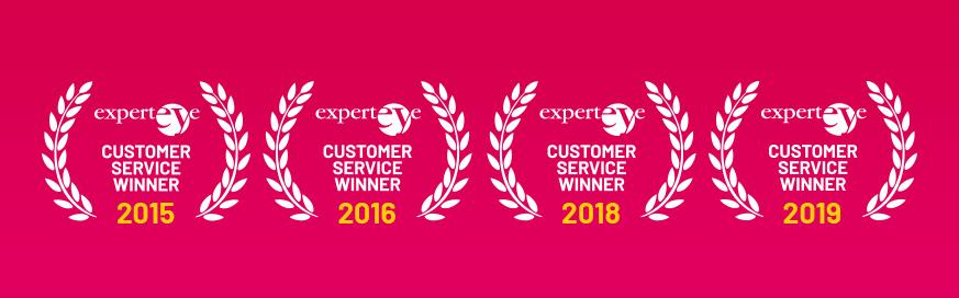 Fourth customer service award win in five years