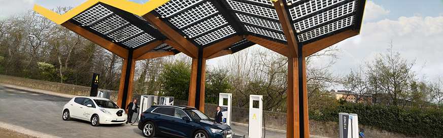 First ultra-fast charging station opens in the UK as CO2 levels rise across Europe