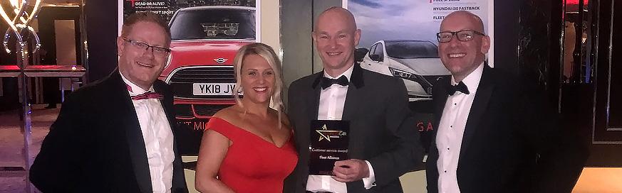 Fleet Alliance wins Business Car customer service award at first attempt