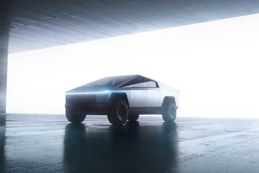 The Tesla Cybertruck: something for outer space – or is Elon having a laugh?