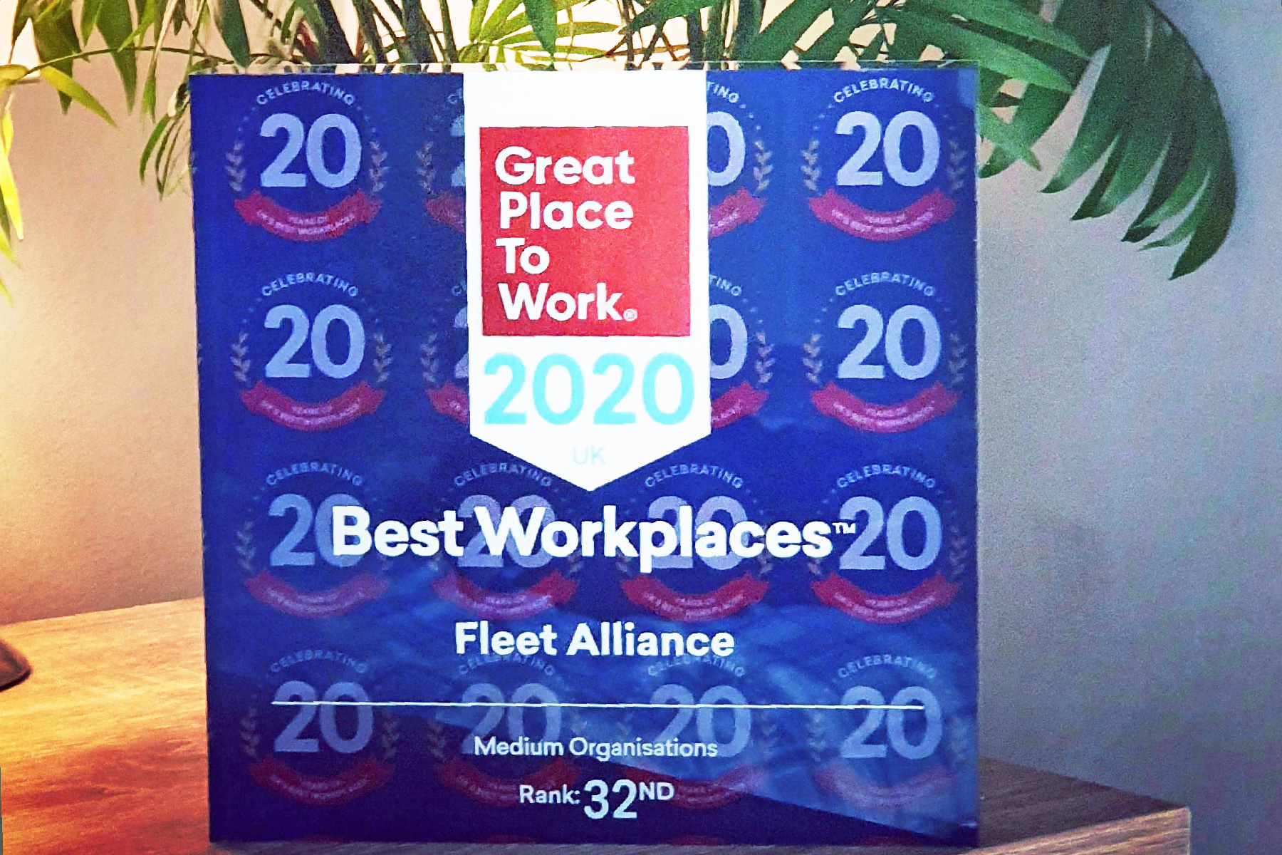 Fleet Alliance named as one of UK's Best Places to Work 2020