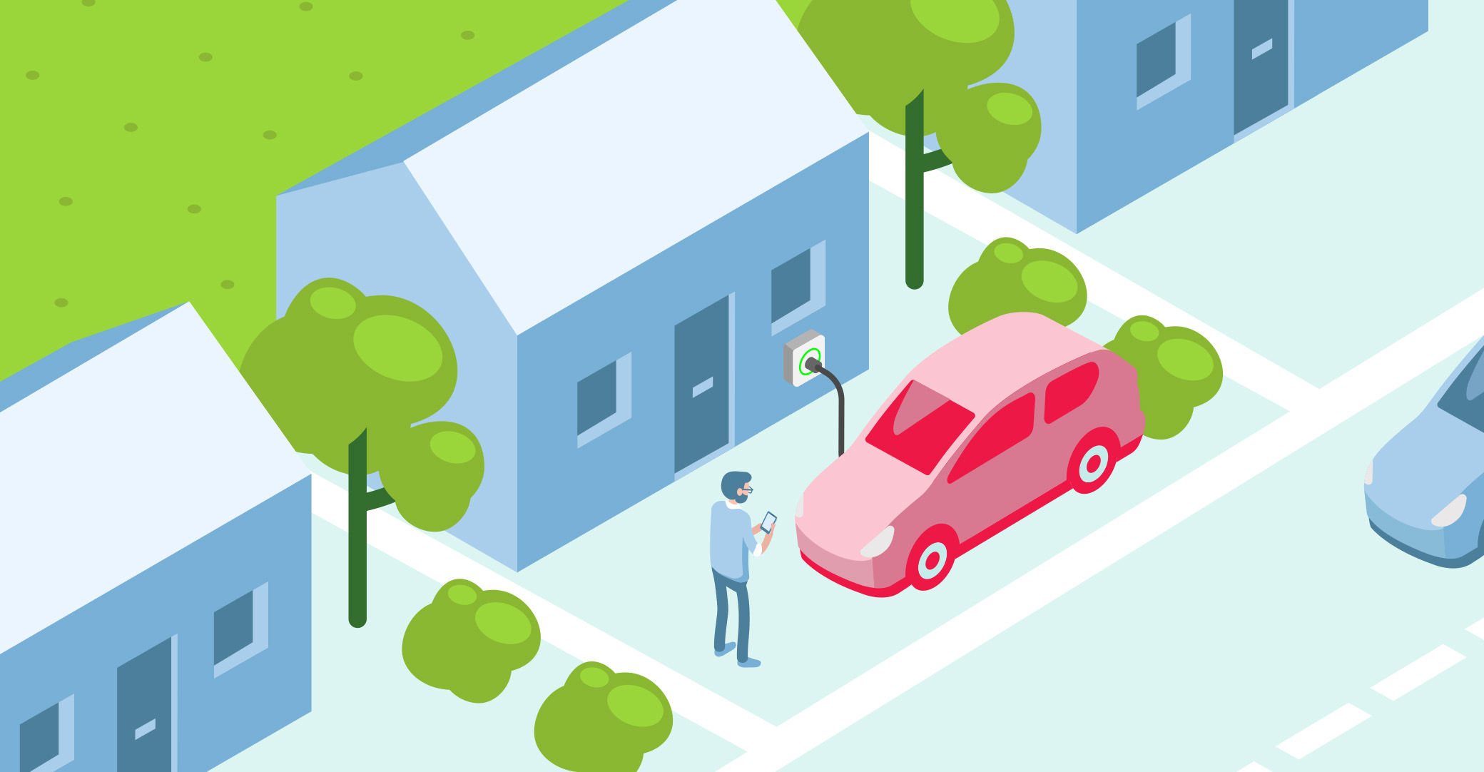 Choosing an EV – when you have your own driveway or garage
