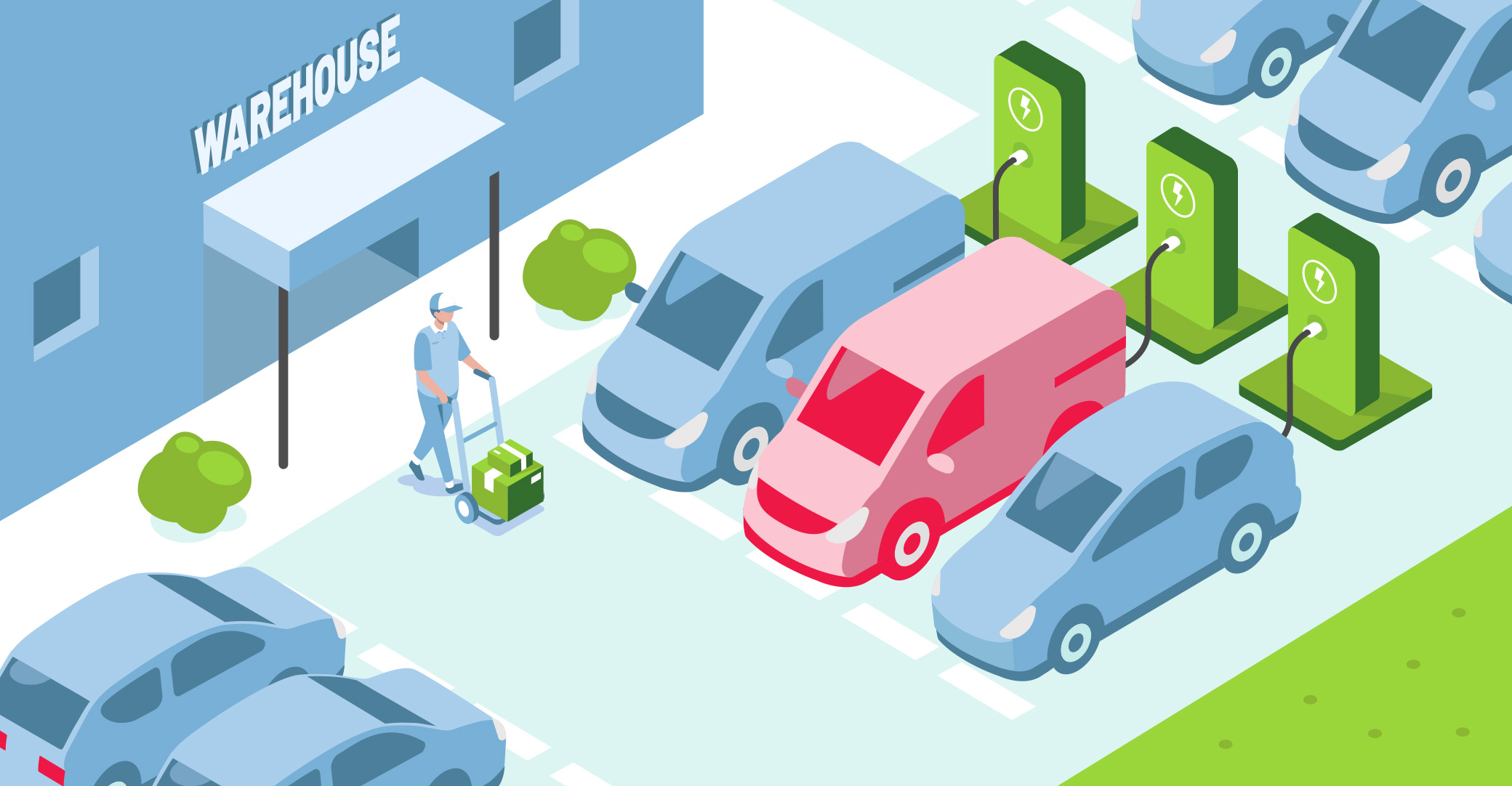 Changing a business fleet to electric