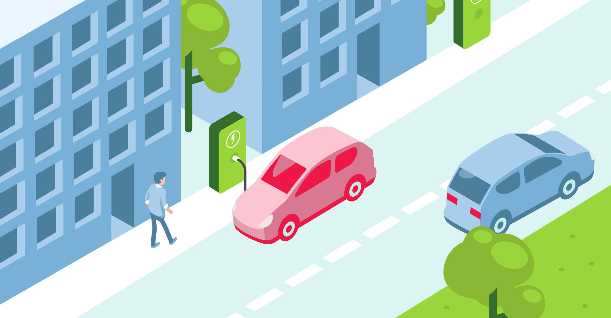 Choosing an EV – when you live in a flat