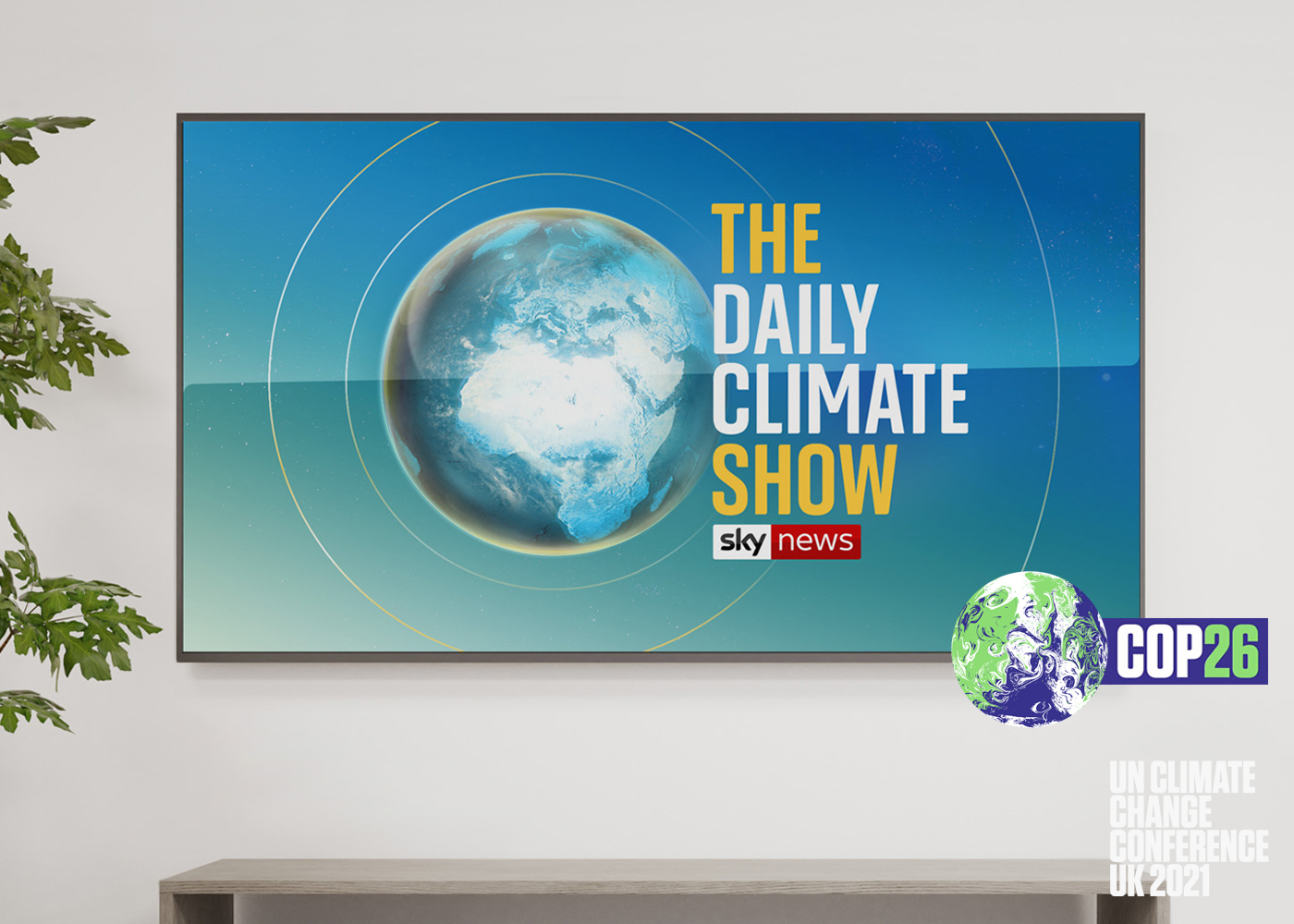 Sky launches The Daily Climate Show to highlight COP26